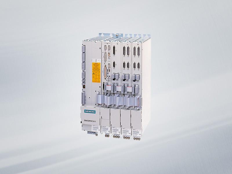 6SN1124-1AA00-0BA2 NEU / NEW Siemens SIMODRIVE 611 POWER MODULE, 1 AXIS, 25 A