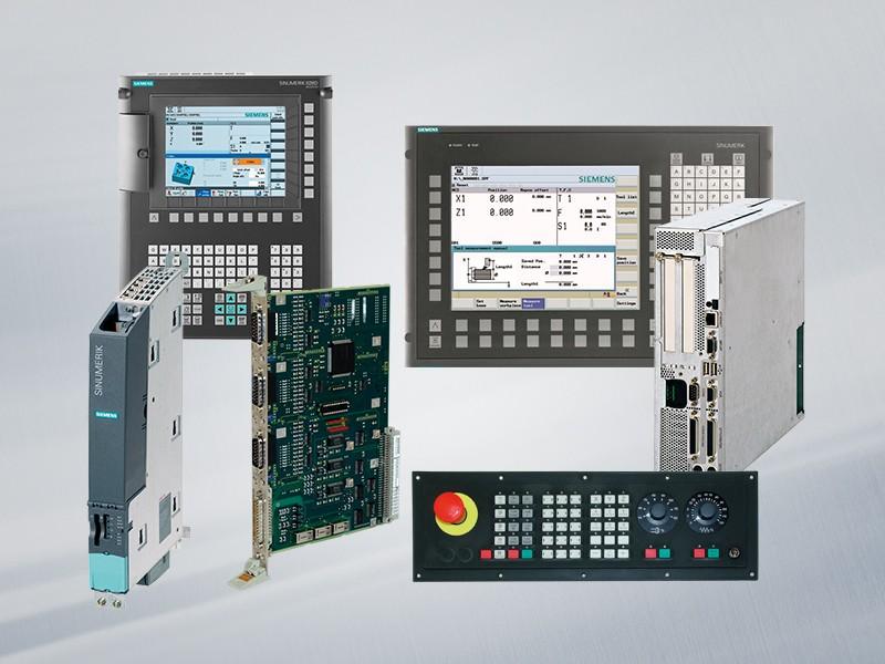 6FC3238-3EF20 Siemens SINUMERIK 820 T MSST ACHSWAHL: X, Z, Q1, Q2